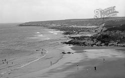 Tudweiliog, The Coast From Towyn Beach c.1955