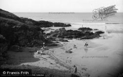 Tudweiliog, The Rocks On Towyn Beach 1936