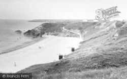 Tudweiliog, Towyn Beach c.1955