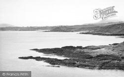 Tudweiliog, View Towards Towyn Beach From Porthysgaden c.1955