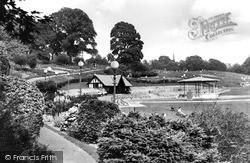 Tunbridge Wells, Calverley Gardens c.1955