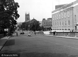 Tunbridge Wells, Crescent Road c.1955