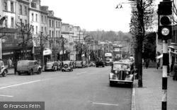 Tunbridge Wells, Mount Pleasant c.1955