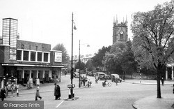 Tunbridge Wells, Trinity Church c.1955
