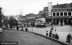 Tunbridge Wells, View From Mount Pleasant c.1955