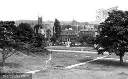 Tunbridge Wells, View From The Common c.1955