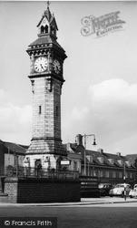 Tunstall, Clock Tower c.1955