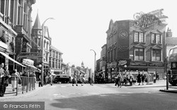 Tunstall, High Street c.1955