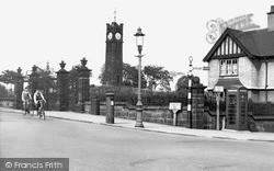 Tunstall, Park Gates c.1955