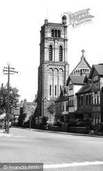 Tunstall, Roman Catholic Church c.1950