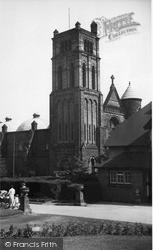 Tunstall, Roman Catholic Church c.1955
