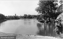 Tunstall, The Lake c.1940
