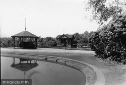 Tunstall, The Park c.1950