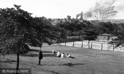 Tunstall, View From The Park c.1950