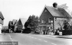 Turners Hill, Corner Shop And Chapel c.1965