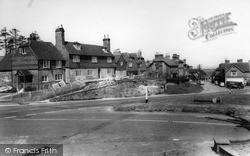 Turners Hill, Cross Roads c.1965