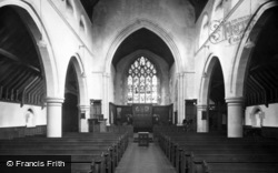Turners Hill, St Leonard's Church Interior c.1955