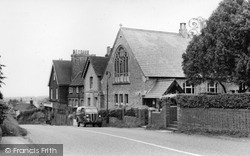 Turners Hill, The Chapel And Main Road c.1960
