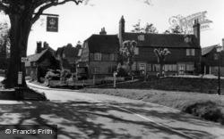 Turners Hill, The Cross Roads c.1955