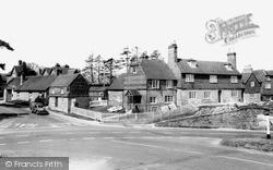 Turners Hill, The Cross Roads c.1965
