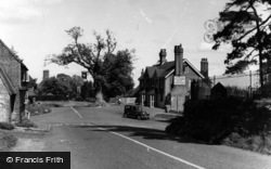 Turners Hill, The Crown And Cross Roads c.1955