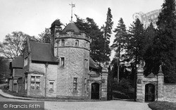 Turners Hill, The Entrance, Worth Priory c.1955