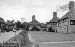 Turners Hill, Tudor Houses, East Street c.1960