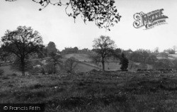 Turners Hill, View From The Punch Bowl c.1955