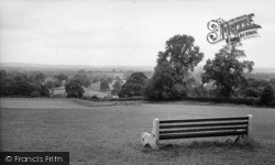 Turners Hill, View From The Recreation Ground c.1960