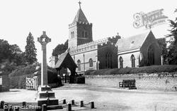Turvey, All Saints Church c.1955