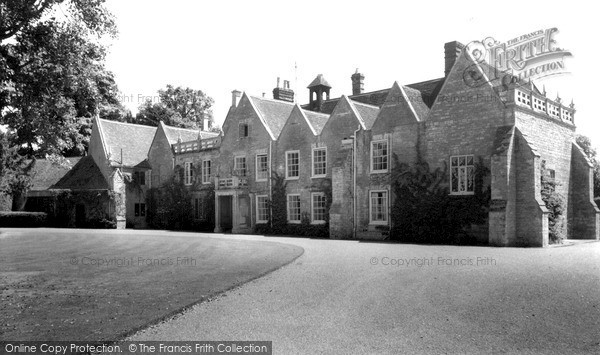 Photo of Turvey, the Abbey c1955