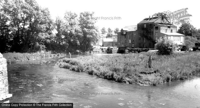 Turvey,the Mill c1955,Bedfordshire
