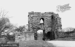 Tutbury, Castle, John O'gaunt's Tower c.1955