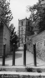 Tutbury, St Mary's Church c.1955