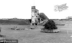 Tutbury, The Castle 1967