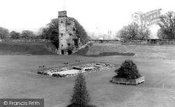 Tutbury, The Castle c.1955