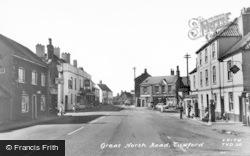 Great North Road c.1960, Tuxford