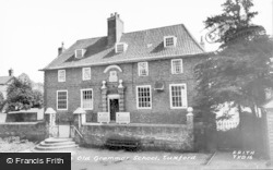 The Old Grammar School c.1960, Tuxford