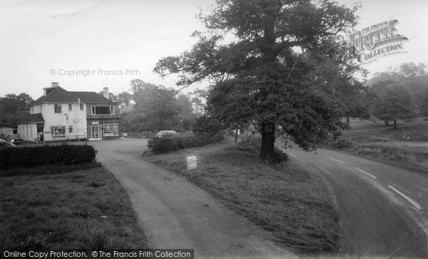 Twemlow Green, the Yellow Broom Grill c1965