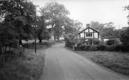 Twemlow Green, Twemlow Cottage c1965