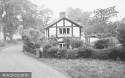 Twemlow Green, Twemlow Cottage c.1965