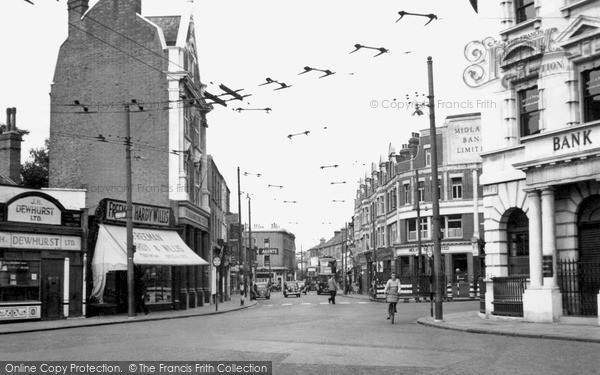 Twickenham, London Road c1955