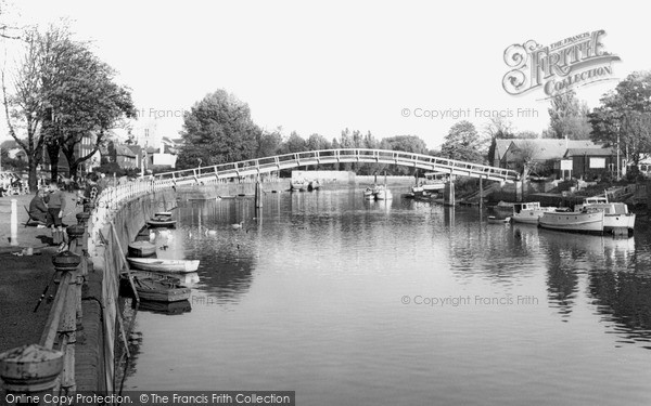 Twickenham, the River c1955