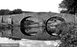 Two Bridges, The Two Bridges c.1960