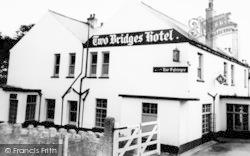 Two Bridges, Two Bridges Hotel c.1960