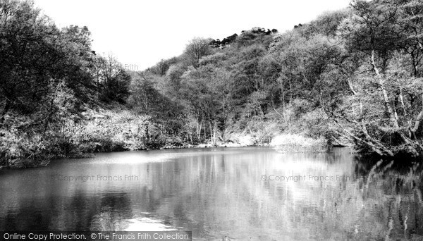 Two Dales, Ladygrove Dam c1960