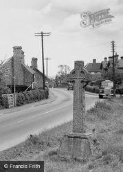 Twycross, The War Memorial c.1955