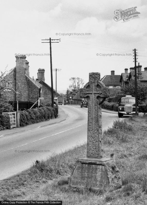 Twycross, the War Memorial c1955