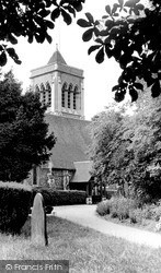 Twyford, Church Of St Mary The Virgin c.1955