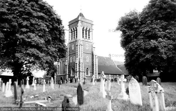 Twyford, Parish Church c1965